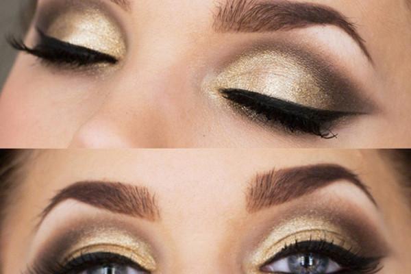 golden look