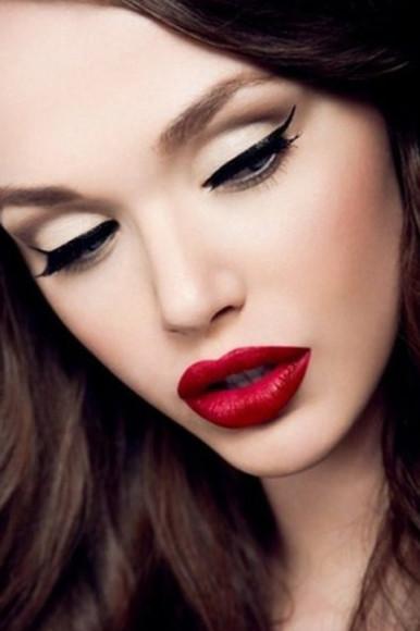 make up labbra rosse