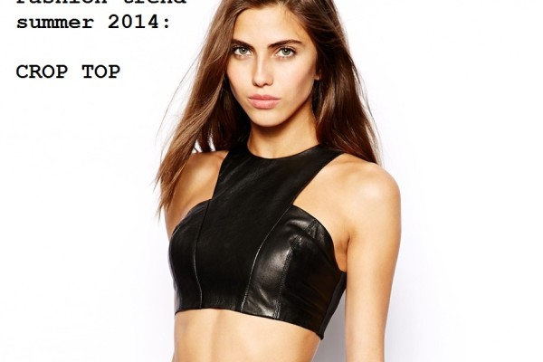 PELLE CROP TOP coperina