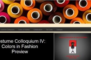 Costume Colloquium 2014: un evento che racconta la moda