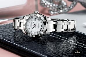 The timeless elegance signed Rolex