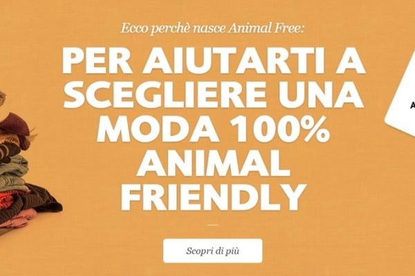 Animal free copertina