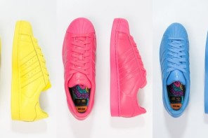 Adidas supercolor: the sneakers collection by Pharrel Williams