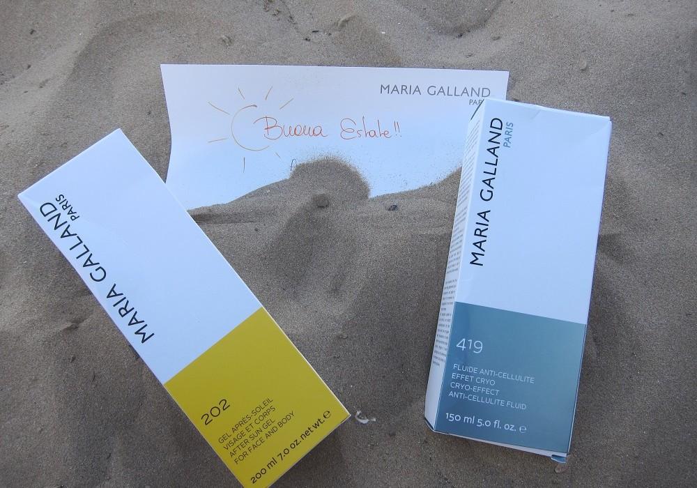 Maria Galland: summer beauty treatments!