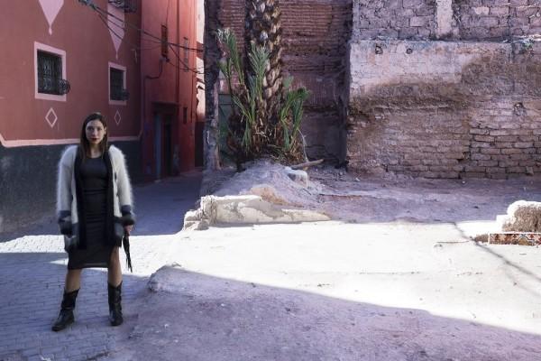 Walking-in-Marrakech-vintage-look