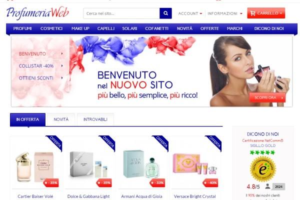 profumeria web
