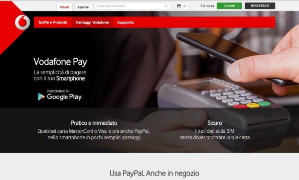 Con l'App Vodafone pay sarà possibile fare acquisti in tutti i negozi dotati di un POS contactless: una vera rivoluzione!