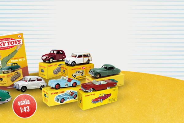 De Agostini lancia la collezione Dinky Toys: in edicola dal 10 settembre! #seguidinky #tinystreetart #dinkytoys #DeAgostini #tiny