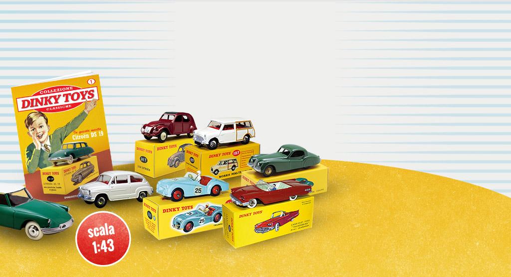 Dinky Toys: alla scoperta delle auto classiche del passato!