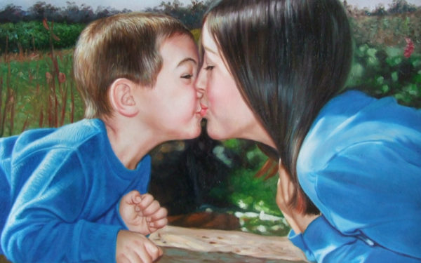 TRASFORMA LA TUA FOTO IN DIPINTO Dipinti realizzati a mano grazie a Primo ritratto