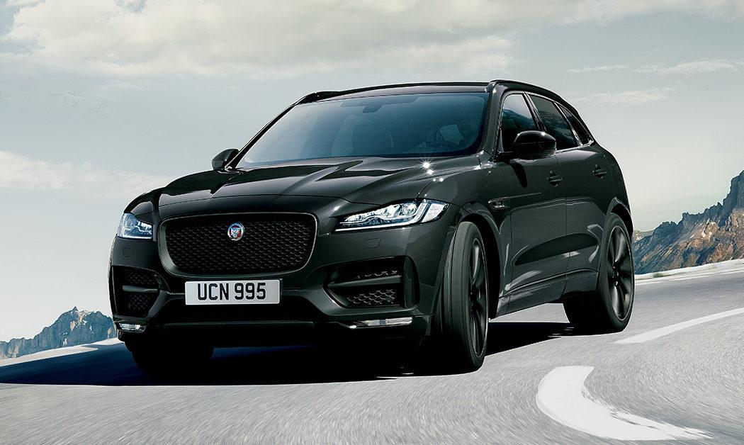 Jaguar F-PACE Dark Edition un SUV ad alte prestazioni che unisce un'anima sportiva, una bellezza mozzafiato, praticità ed efficienza.