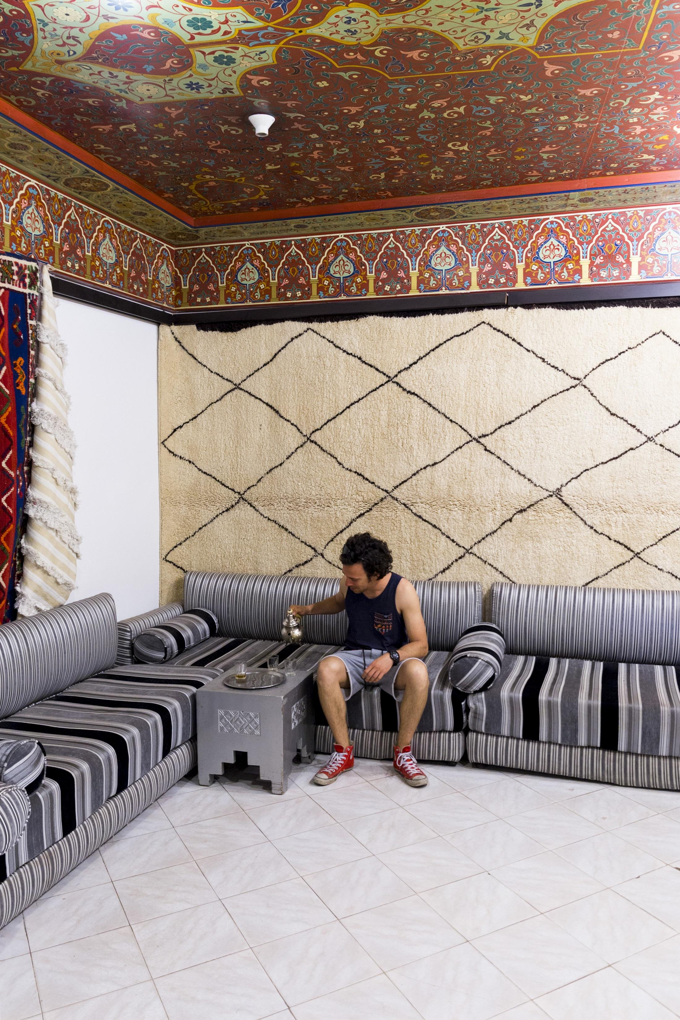 alessio a Marrakech