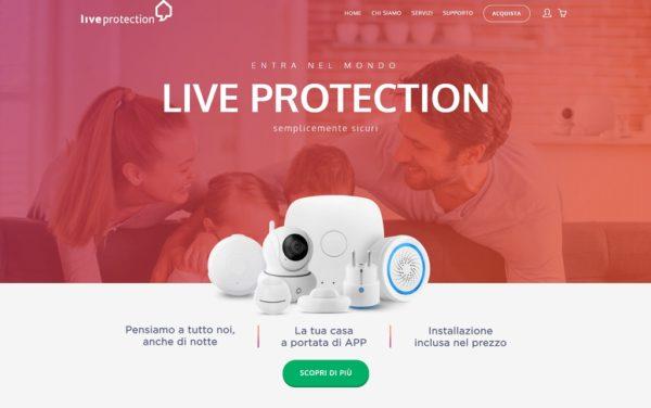 Proteggi la tua casa e la tua famiglia: scopri Live Protection