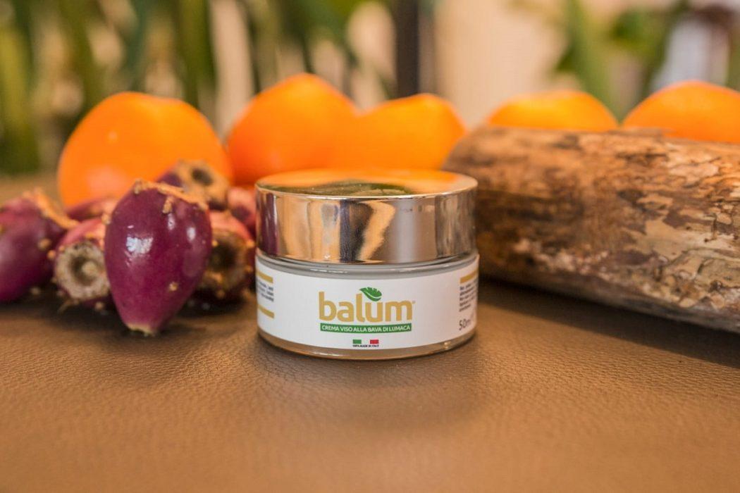 Balum: crema viso alla bava di lumaca