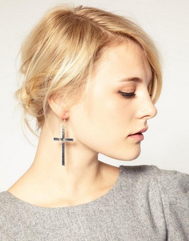 orecchini a croce Asos