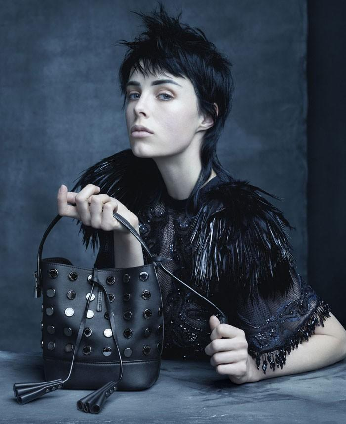 Edie Campbell S-S 2014 LV