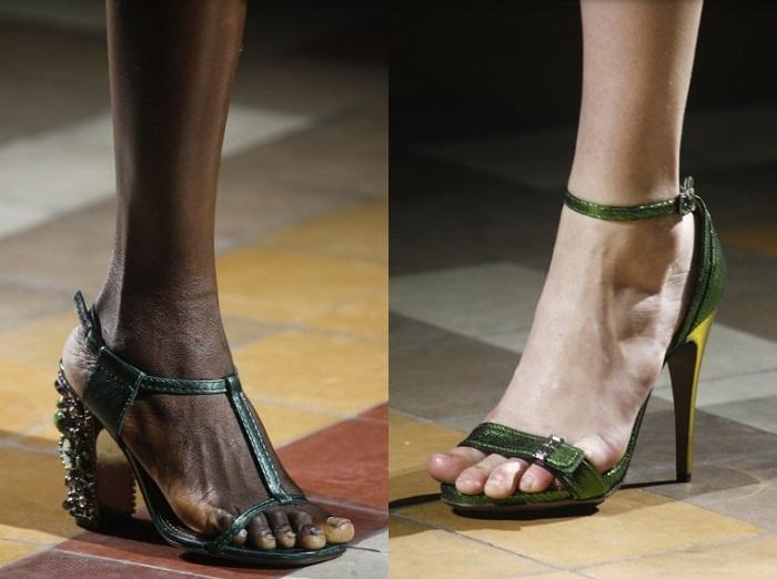 Sandalo Lanvin  2 COMPOSIZIONE