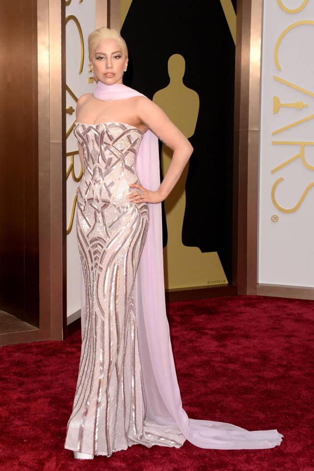 Lady-gaga Oscar 2014