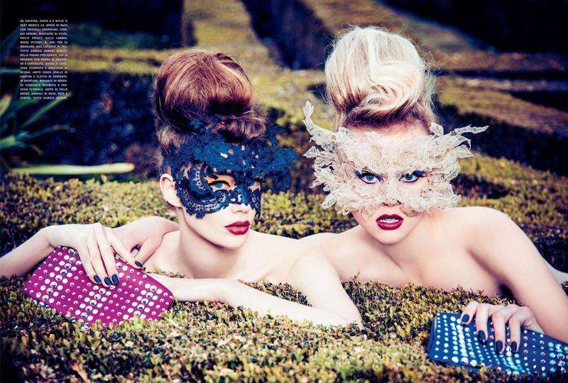 Ellen Von Unwerth - Vogue Italia 2014