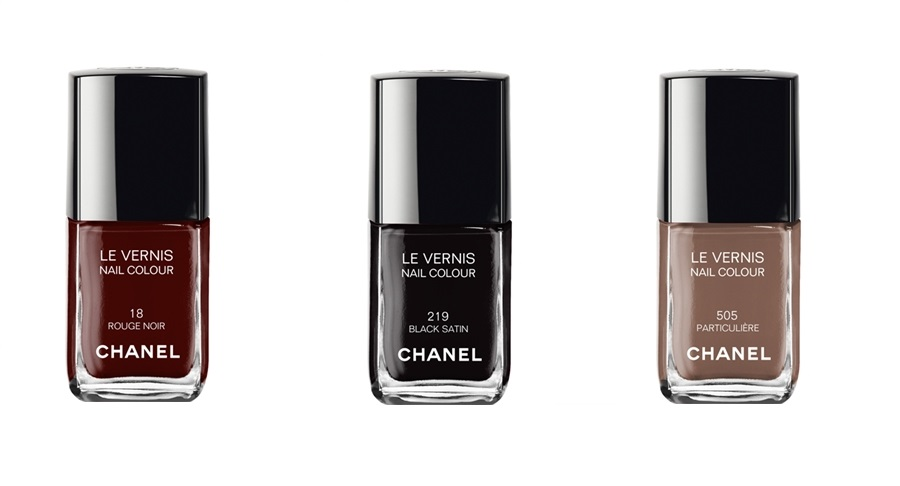 Chanel fall 2014-2015 nail colours