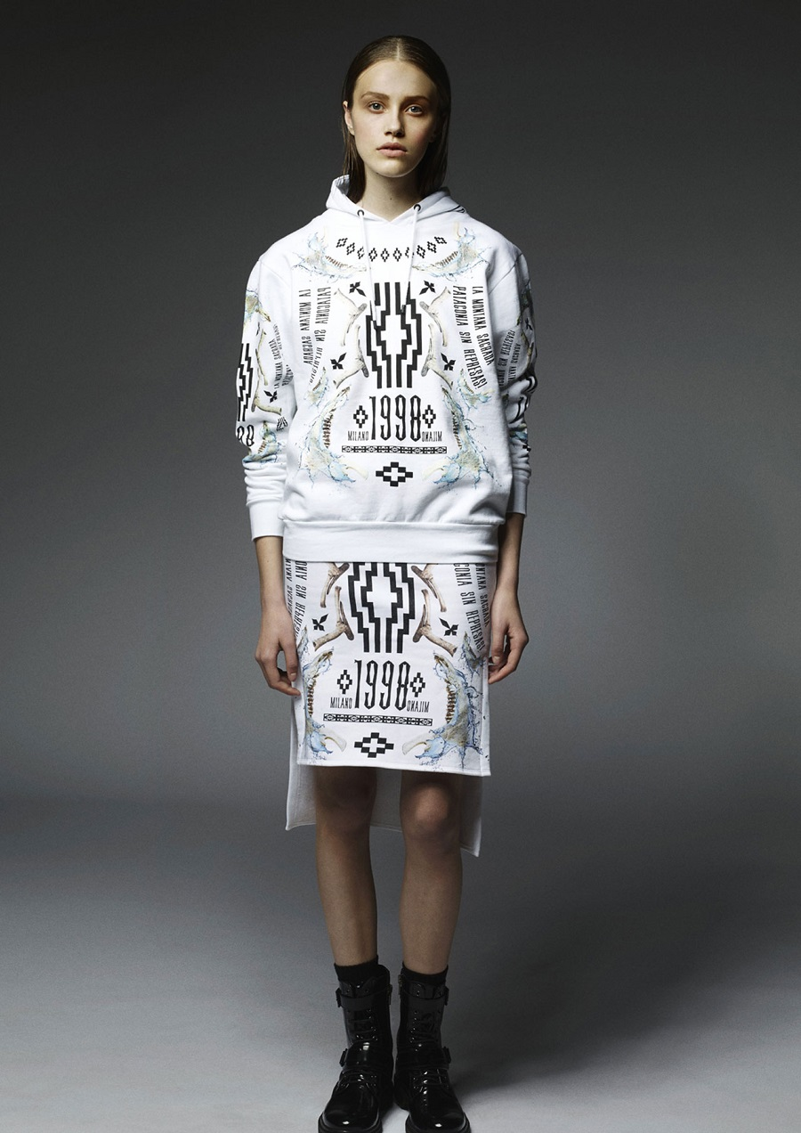2.Marcelo-Burlon-County-Of-Milan-Fall-Winter-2014-2015-Womenswear-06-milano-1998-hoodie-pannel-skirt