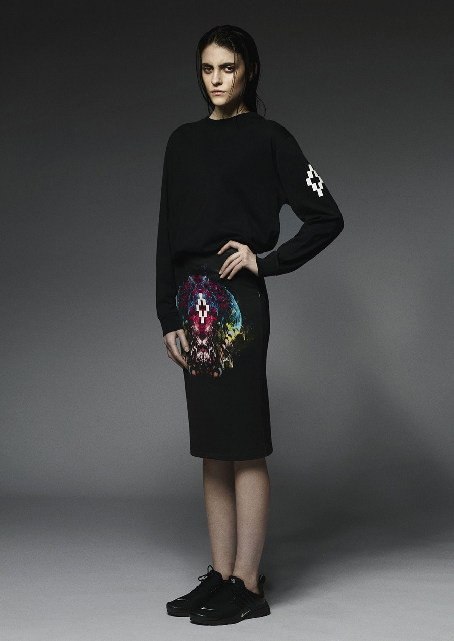 Marcelo-Burlon-County-Of-Milan-Fall-Winter-2014-2015-Womenswear-staff-sk8head-skirt