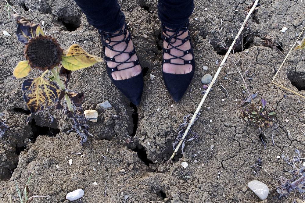 Asos shoes dark look