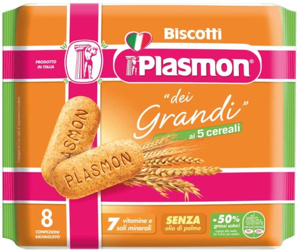 Il biscotto plasmon si reinventa per andare incontro alle esigenze di chi bambino non è più. Nasce infatti il biscotto Plasmon dei Grandi