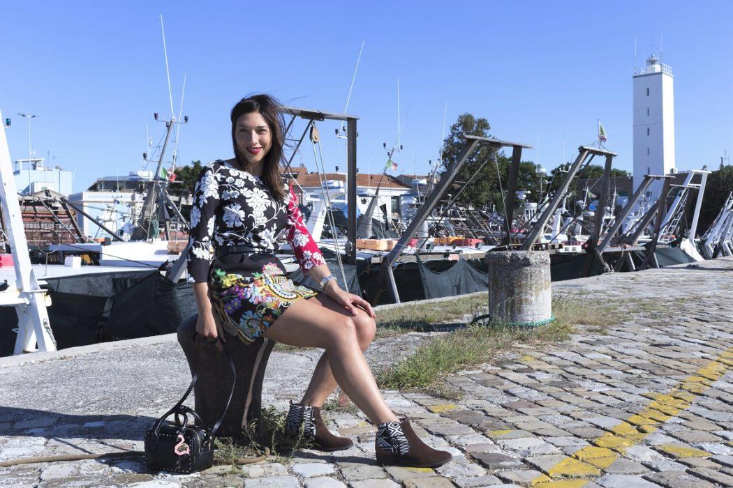 vestito a fiori desigual: un look colorato e mediterraneo! #mydesigual