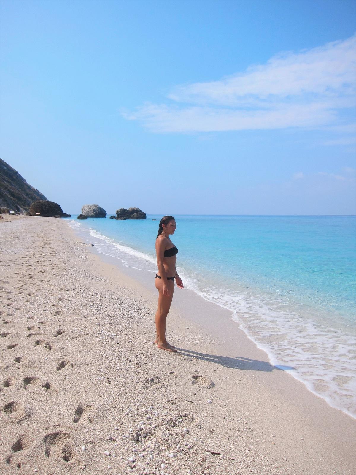 Lefkada Κavalikefta beach