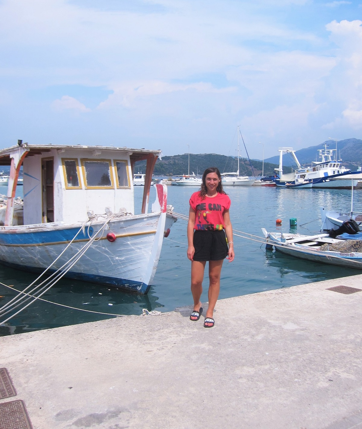 Lefkada Ligia port