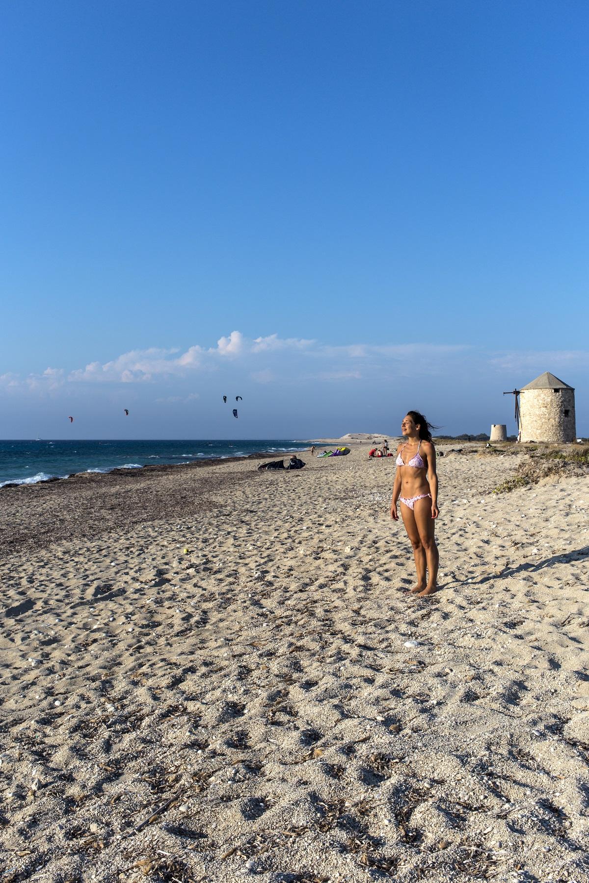 Lefkada Kite surfers paradise