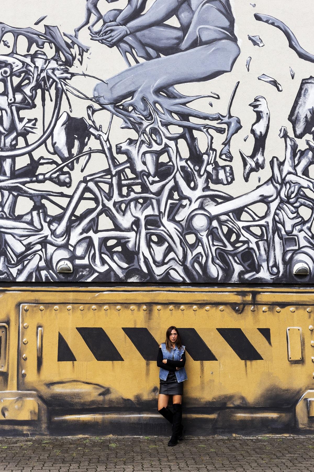 Una città che non si è adagiata sugli allori e lo splendore di un tempo: Ravenna è una città nuova e viva grazie ai fantastici murales in giro per la città!