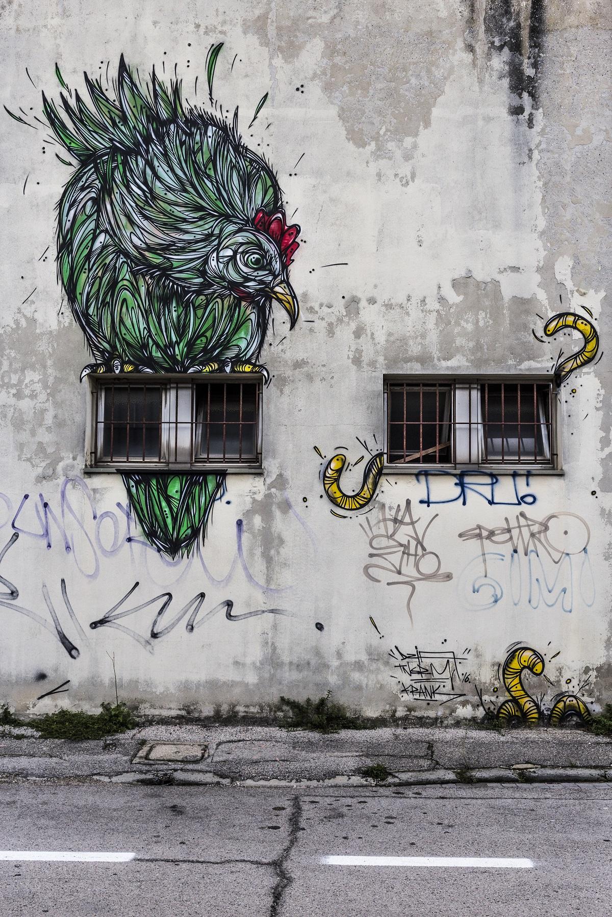 Una città che non si è adagiata sugli allori e lo splendore di un tempo: Ravenna è una città nuova e viva grazie ai fantastici murales in giro per la città! #ravennastreetart
