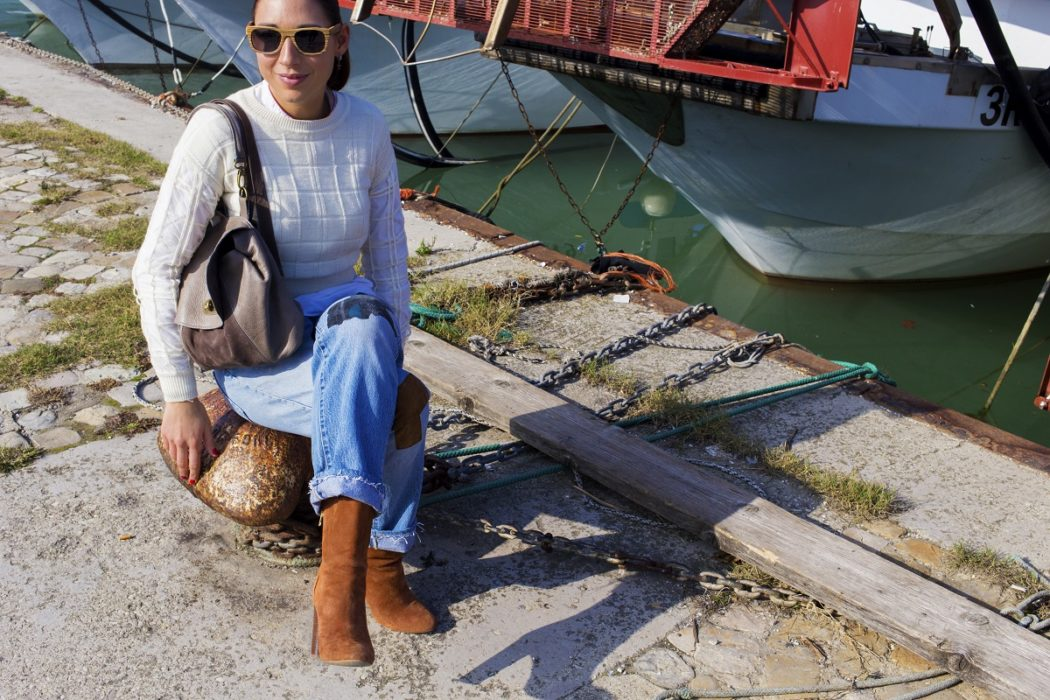 Comoda, bella e Made in Italy: la borsa Alma è un vero must have per rendere ogni look originale e versatile! Io la indosso così!