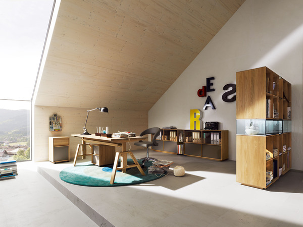 L ufficio si sposta a casa legno e design per l home for Design per l ufficio