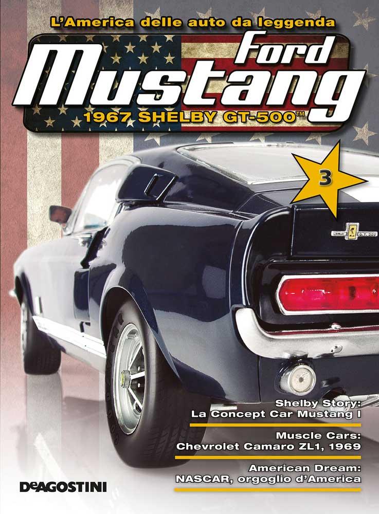 modellino Ford Mustang Shelby De Agostini