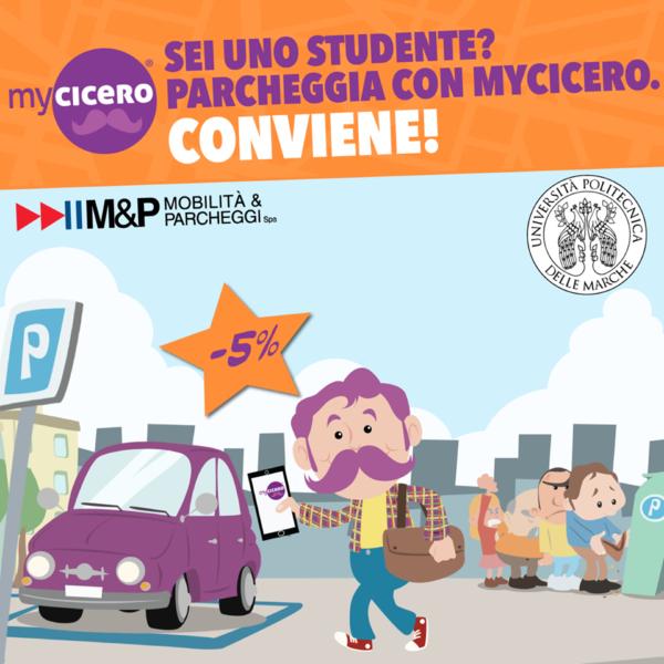 Scarica gratuitamente L'App di Viaggio My Cicero e ricevi un buono di 2 €