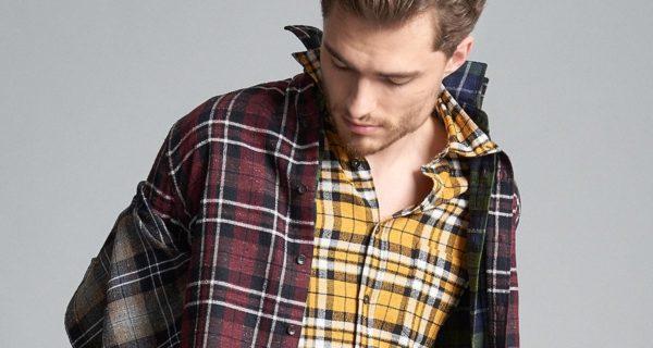 camicia da uomo di tendenza